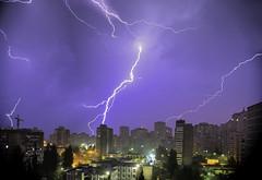 Night light (Valery Parkhomenko) Tags: nikon d610 nikkor 1855mm 1855 night light lighting lightings rain kyiv ukraine sky skyline
