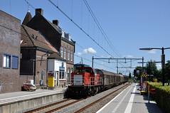 DBC 6509 met gesloten wagens, Bodegraven, 21-07-2017 (Michael Postma) Tags: bodegraven elektrolux db dbc dbcargo 6509 6400 6500