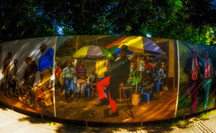 pictures made by Baudouin Mouanda on display (try...error) Tags: gacilly art street streetart gallery festival red blue yellow green people african sony fisheye urban africa lagacilly travel 6000 24 alpha nex man photographer streetphotography