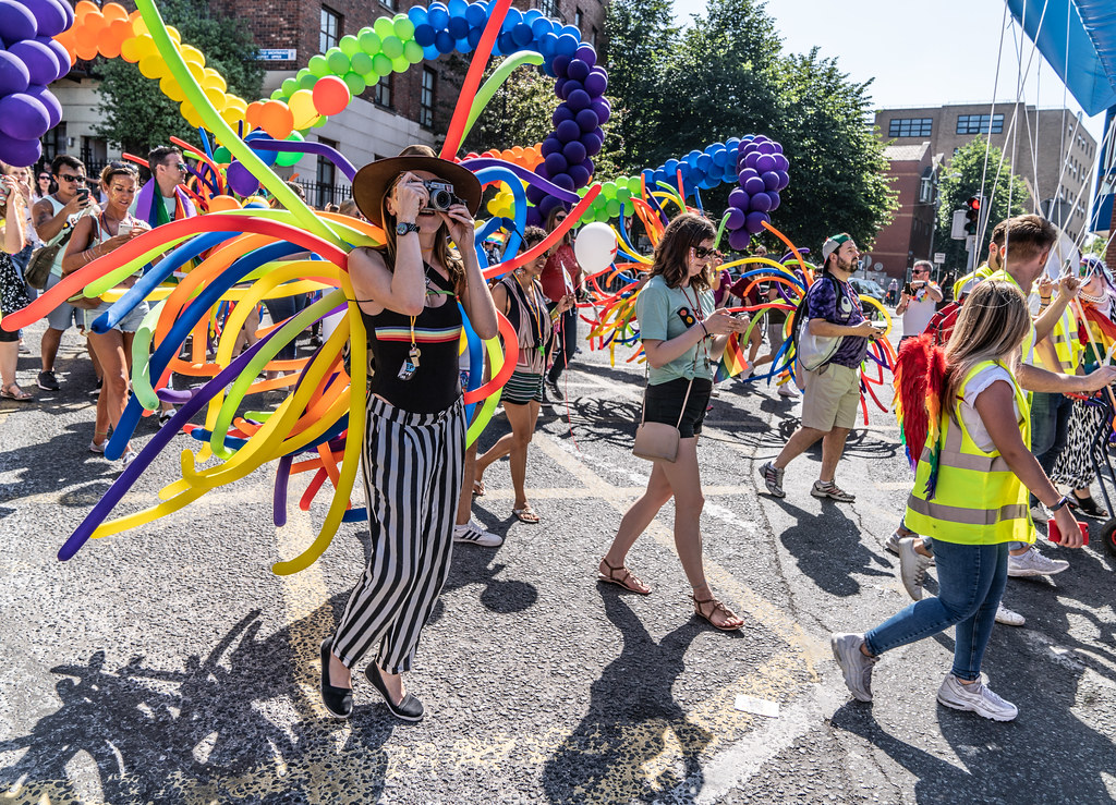 ABOUT SIXTY THOUSAND TOOK PART IN THE DUBLIN LGBTI+ PARADE TODAY[ SATURDAY 30 JUNE 2018] X-100272