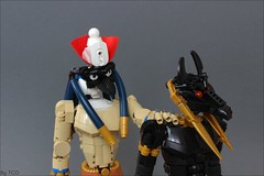 Set and Horus (...The Chosen One...) Tags: lego moc egypt set horus god biocup