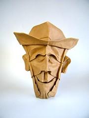 Amish (Rui.Roda) Tags: origami papiroflexia papierfalten masque mask mascara amish