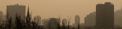edificios (the glitchman) Tags: edificios urbe ciudad cemento construcción recoleta santiago siluetas niebla bruma