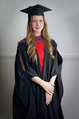 C in Mortarboard and Gown (Richard :)) Tags: graduation gown law graduate universityofbristol bristoluniversity mortarboard girl lady