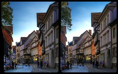 Historic district of Quedlinburg 3-D / CrossView / Stereoscopy / HDRaw (Stereotron) Tags: quedlinburg historic altstadt sachsenanhalt saxonyanhalt ostfalen harz ostfalia hardt hart hercynia harzgau streetphotography europe germany deutschland crosseye crossview xview pair freeview sidebyside sbs kreuzblick 3d 3dphoto 3dstereo 3rddimension spatial stereo stereo3d stereophoto stereophotography stereoscopic stereoscopy stereotron threedimensional stereoview stereophotomaker stereophotograph 3dpicture 3dimage hyperstereo twin canon eos 550d yongnuo radio transmitter remote control synchron kitlens 1855mm tonemapping hdr hdri raw availablelight