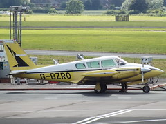 G-BZRO Piper Twin Comanche 30 Private (Aircaft @ Gloucestershire Airport By James) Tags: gloucestershire airport gbzro piper twin comanche 30 private egbj james lloyds