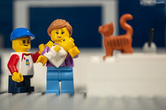 Happy Fathers Day to all the Moms pulling double duty. (3rd-Rate Photography) Tags: fathersday lego minifig minifigure toy toyphotography canon 5dmarkiii 100mm macro jacksonville florida 3rdratephotography earlware 365