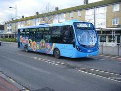 Metrobus No. 6110, registration No. SK66 HTG. (johnzebedee) Tags: bus motorbus metrobus crawley sussex transport publictransport johnzebedee wrightbus wrightbusstreetlite