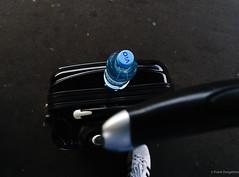 Traveling (frankdorgathen) Tags: alpha6000 sony1018mm banality banal mundane ruhrpott ruhrgebiet mainstation station bahnhof hauptbahnhof essen bottle water wasserflasche koffer suitcase