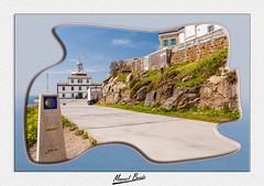 Faro de Finisterre  construido en 1853. (Manuel Boado) Tags: km0 farodefinisterre manuelboado nikond700 caminodesantiago acoruña galicia mar cielo peregrino