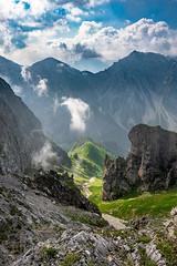 Karwendel View (F!o) Tags: sonnjoch karwendel kar mountains berge gipfel sonne wolken clouds skx sky landscape landschaft bayern garmisch alpen alps