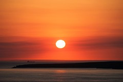 Heading to Harbour. (Thicks Aside) Tags: anglesey ship sunset holy island