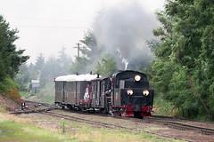 Px48-1756 (pedro4d) Tags: zaniemyśl nikon f5 tamron 150600 fuji superia 200 px48 px481756 peiks narrow gauge railway schmalspurbahn kolej pociąg para parowóz steam engine dampflok polska poland polen film analog