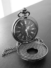 Time passes by. (RobertTaylor95) Tags: time watch pocket pocketwatch blackandwhite photography nikon classic bnw gray clock