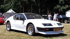 Alpine Renault A310 V6 Pack GT 1984 (XBXG) Tags: sgjs87 alpine renault a310 v6 pack gt 1984 alpinerenault coupé coupe blanc white concours délégance 2018 paleis het loo apeldoorn nederland holland netherlands paysbas youngtimer old classic french car auto automobile voiture ancienne française vehicle outdoor
