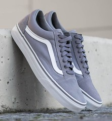 Vans Old Skool Frost Gray Mens Womens Sneakers Suede Skate Shoes Sneakers Sizes (laplace777) Tags: frost shoes skate skool sneakers suede womens
