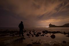Amigos de la oscuridad (joaquinain) Tags: nocturnas nightly nubes clouds alicante cala charco villajoyosa olympus omd em12 high resolution alta resolución
