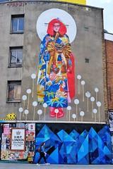 Escape In Progress (Douguerreotype) Tags: london people uk art british street streetart city britain graffiti gb wall urban england