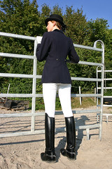 Natalie 15 (The Booted Cat) Tags: sexy riding teen model girl boots ridingboots jodhpur equestrienne
