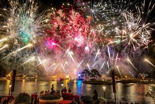 Epcot Firework Show
