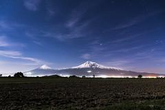 Mount Ararat (wesolt) Tags: armenia night sky stars mountain mountains ararat travel landscape nightscape caucasus