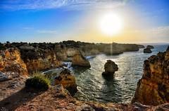 Sunset at sea (Peideluo) Tags: sunset cielo roca agua sea landscape seascape acantilados nikon mar amanecer