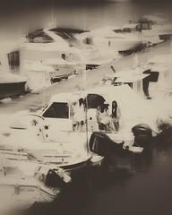 Alle Mann an Deck... (hobbit68) Tags: boats boot boote spanien espana espagne spain andalucia andalusien andalusisch hafen port water wasser conil monochrome blackwhite schwarzweis holiday urlaub