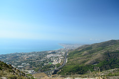 Benalmádena, Málaga (Mario Kamitz) Tags: spain spanien berg mountain andalusien malaga cima calamorro meer ocean