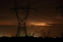 power (scott a borack) Tags: monsoon storm lightning arizona monsoonseason night sky