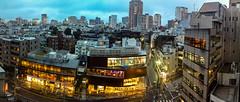 #171 Rainy evening in Jingumae (tokyobogue) Tags: tokyo japan shibuya jingumae nexus6p nexus 365project evening rain panorama dusk city cityscape urban