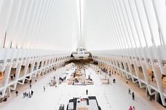 The Oculus (ClareC79) Tags: 100xthe2018edition 1100 canon canon1740mmf4 canon5dmkiv newyork theoculus oculus design architecture