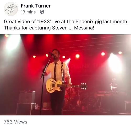 Frank Turner fan photo