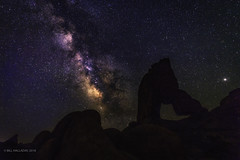 Meanwhile, back at Alabama Hills… (halladaybill) Tags: alabamahills arch lonepine california inyocounty samyscamera nikond850 nikkor20mm astrophotography nightlandscape
