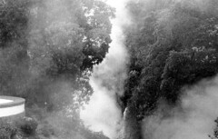 b the smell of sulphur (Ian Allaway) Tags: volcano sulphur cloud azores portugal analogue 35mm trix400 nikonfm2