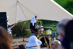 Winston Bell, The Funky Fly Project (nick.amoscato) Tags: edenhall poogiebell bell chatham jazz music summer