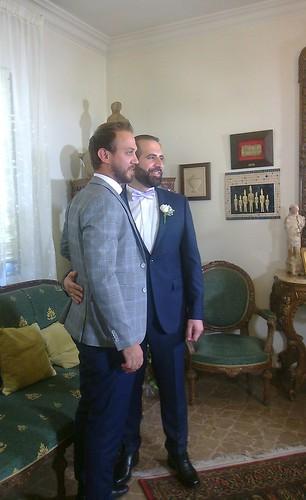Ralph Asmar et Philippe Farhat • Au mariage de Philippe