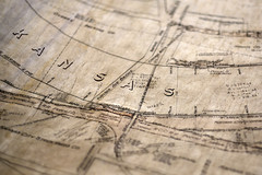 Old Kansas Engineering Map (gpeier) Tags: civilengineering engineering fiber gis surveying utilities maps construction drawings sketch old vintage civil kansas america