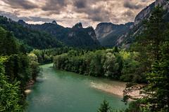Beautiful Day (Mario2304) Tags: landscape nature river sky forest sand mountain trees canon 750d landschaft natur fluss himmel wald berge baum