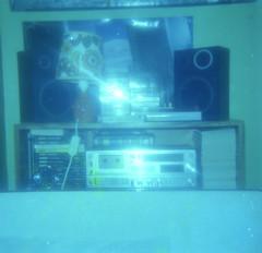 (Chris Hester) Tags: 16 13 baildon west lane bedroom blue hifi books lamp tapes