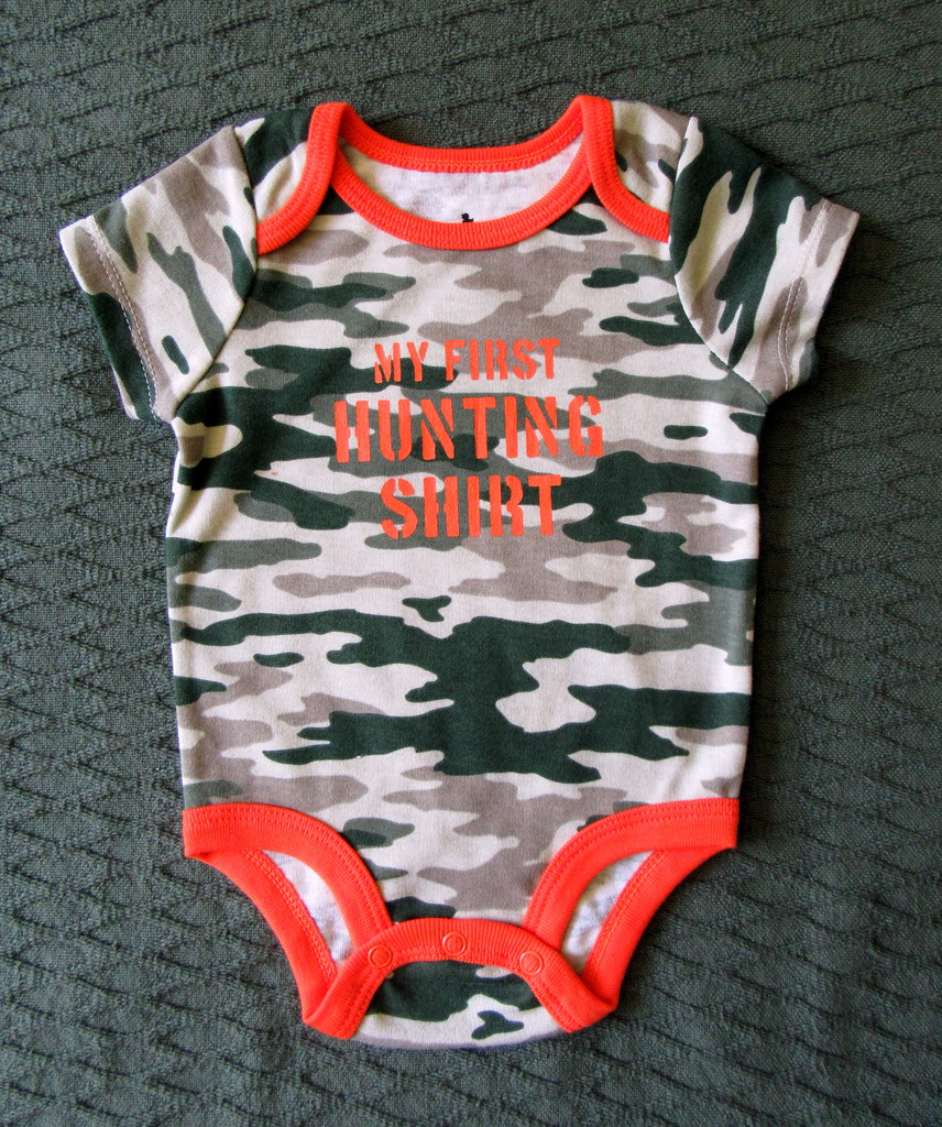 3d011c5fe First Hunting Shirt (genesee_metcalfs) Tags: gifts onesies boy baby