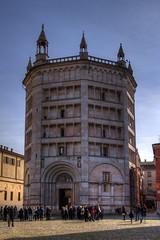 Il Battistero di Parma - Parma Baptistery (Roberto Marinoni) Tags: parma duomo cathedral battistero baptistery marmo marble