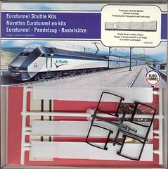 et_sl (Transrail) Tags: eurotunnel kato cjm model train channeltunnel leshuttle passenger freight bobobo doubledeck singledeck loader loading coach carriage ngauge locomotive electric