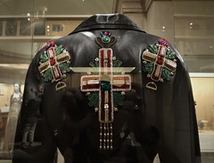 Versace Cross Jacket (battyward) Tags: met heavenly bodies fashion couture nyc catholic imagination versace leather jacket cross