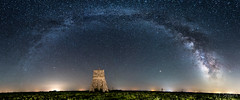 Panorámica de la VL en Berninches (Yorch Seif) Tags: vialactea milkyway noche night nocturna nocturnal lightpainting longexposure largaexposicion estrellas stars d7500 tokina1116