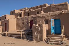 Taos Pueblo (Lindell Dillon) Tags: taospueblo taos newmexico architecture nativeamerican lindelldillon