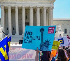 2018.06.26 Muslim Ban Decision Day, Supreme Court, Washington, DC USA 04022