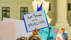 2018.06.26 Muslim Ban Decision Day, Supreme Court, Washington, DC USA 04034