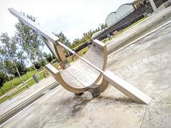 "Reloj solar ""efemérico""  EXPLORER (Nati Almao1) Tags:"