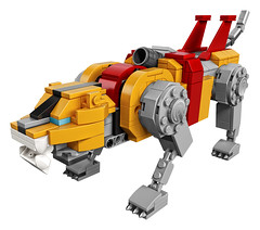 21311 Voltron Yellow Sitting