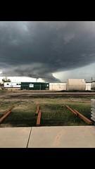 June 19, 2018 - Ominous clouds near Fort Lupton. (Shawn Jones)